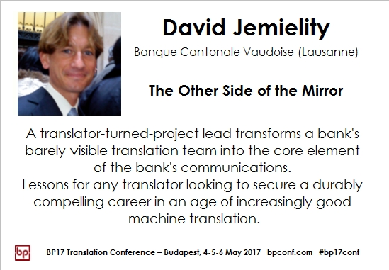 BP17 Translation Conference Budapest David Jemielity mirror session card