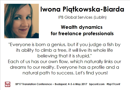 BP17 Translation Conference Iwona Piatkowska Biarda wealth dynamics session card