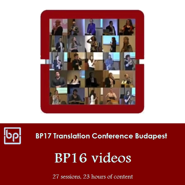 BP17 Translation Conference - BP16 videos
