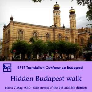 BP17 Translation Conference Hidden Budapest 7 May
