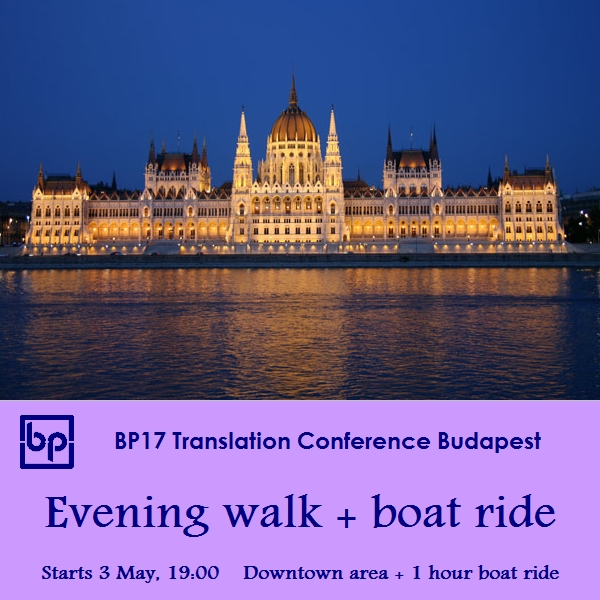 BP17 Translation Conference - evening walk