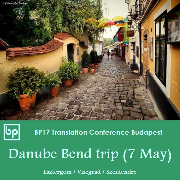 BP17 Translation Conference Danube Bend trip May 7