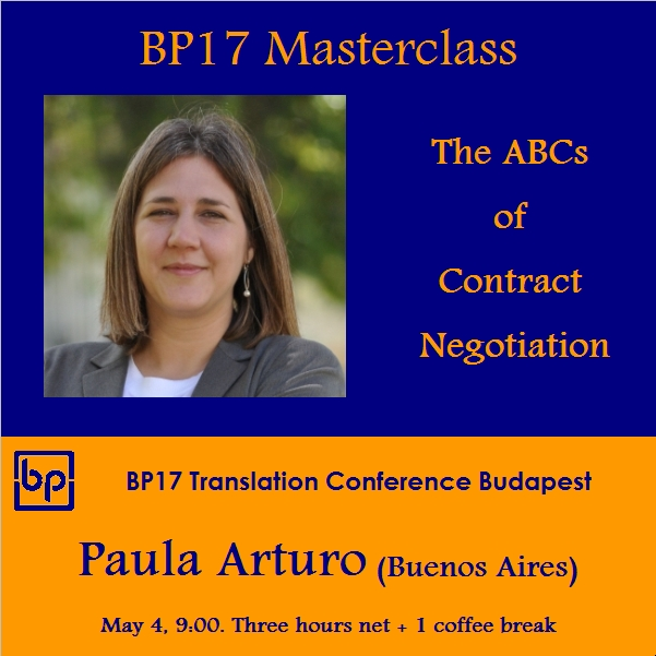 BP17 Translation Conference - Paula Arturo masterclass