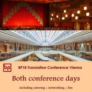 BP18 Translation Conference - 2 days