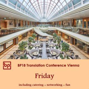 BP18 Translation Conference Friday ticket Freelancer