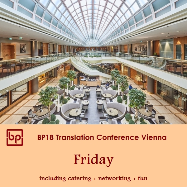 BP18 Translation Conference Friday ticket Freelancer