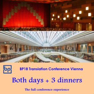 BP18 Translation Conference Full package