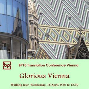 BP18 Gloruous Vienna walking tour 18 April