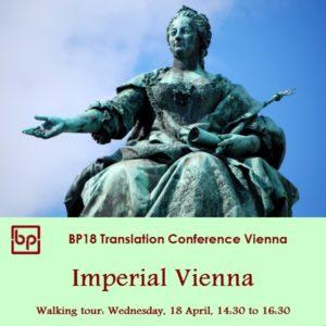 BP18 Walking tour Imperial Vienna 18 April
