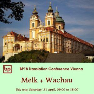 BP18 Day trip Wachau 21 April