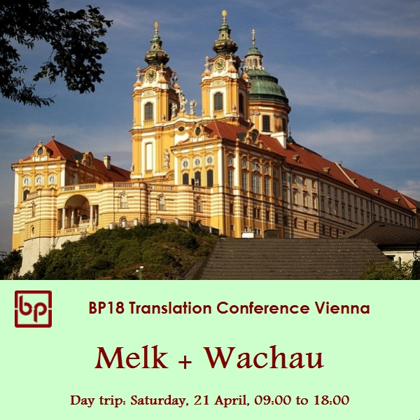 BP18 Day trip Wachau 21 April