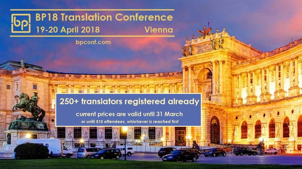 BP18 Translation Conference Vienna cover 180301