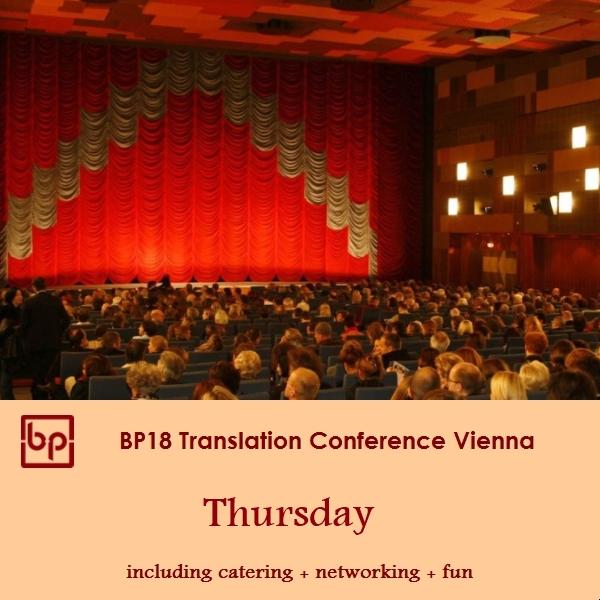 BP18 Translation Conference 19 April