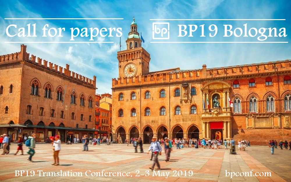BP19 Translation Conference - Call for papers