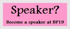 BP19 Translation Conference speaker application