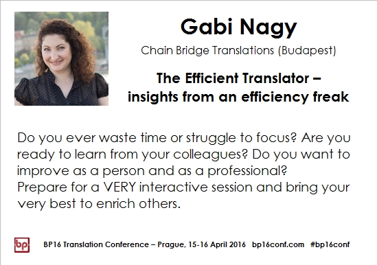 Gabi Nagy BP16 efficiency tips