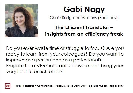 Gabi Nagy BP16 efficiency tips