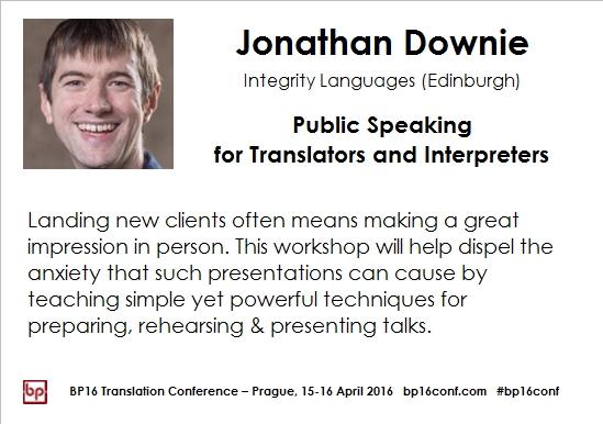 Jonathan Downie BP16 card public speaking