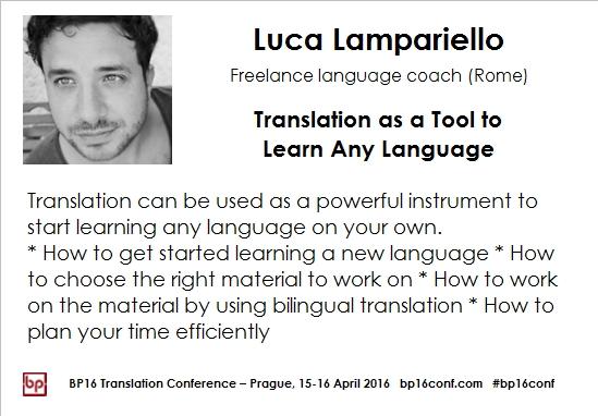 Luca Lampariello BP16 card FB