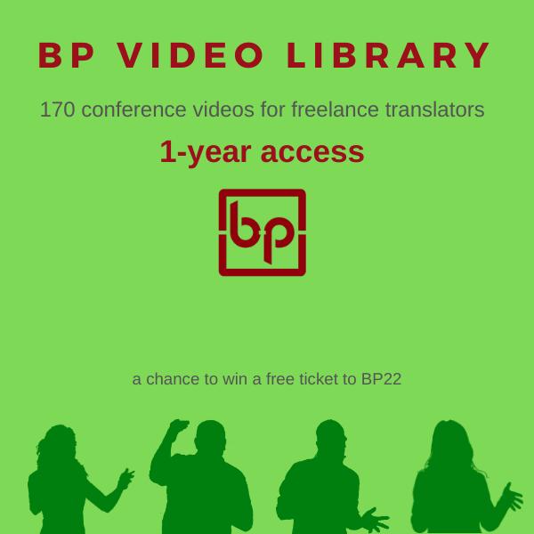 BP Video Library for freelance translators