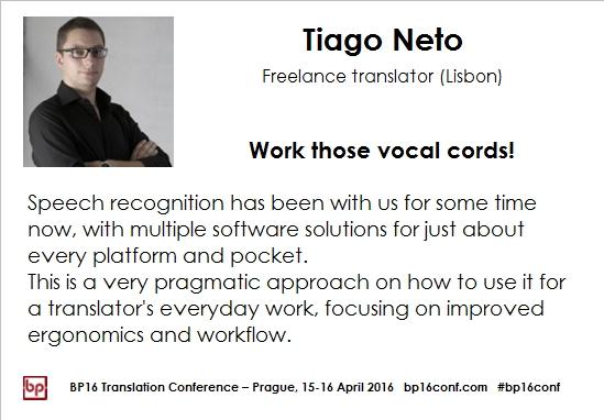 Tiago Neto BP16 speech recognition