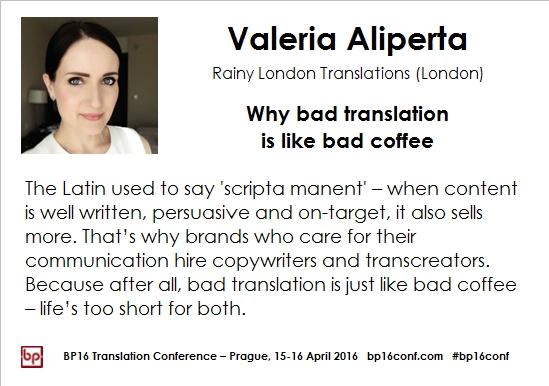 Valeria Aliperta BP16 card