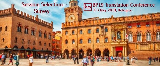 BP19 Translation Conference Session Selection Survey