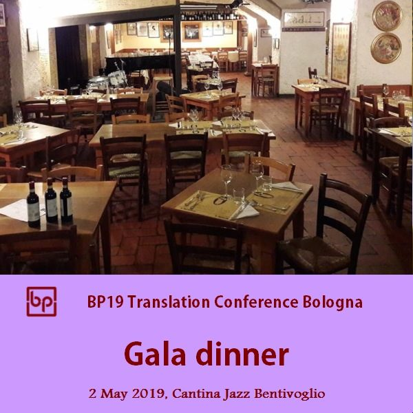 BP19 Conference dinner May 2