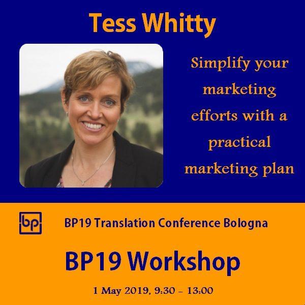 BP19 Workshop_Tess Whitty