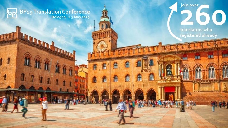 BP19 Translation Conference Bologna