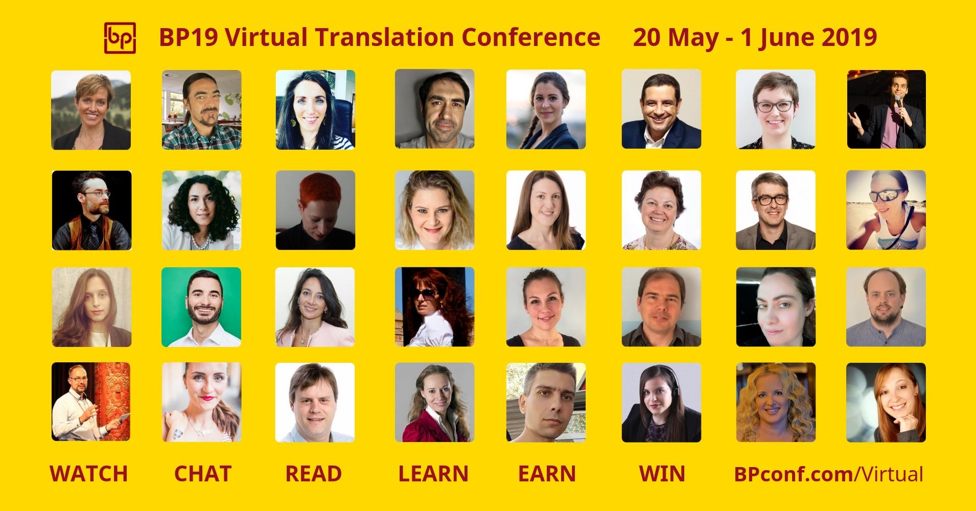 BP19 Virtual TRanslation Conference