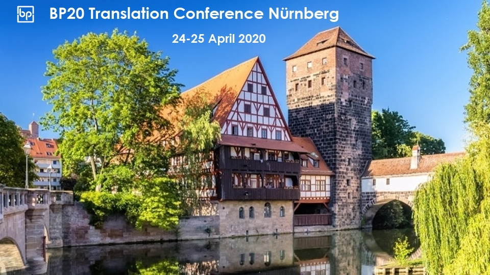 BP20 Translation Conference Nuremberg Germany
