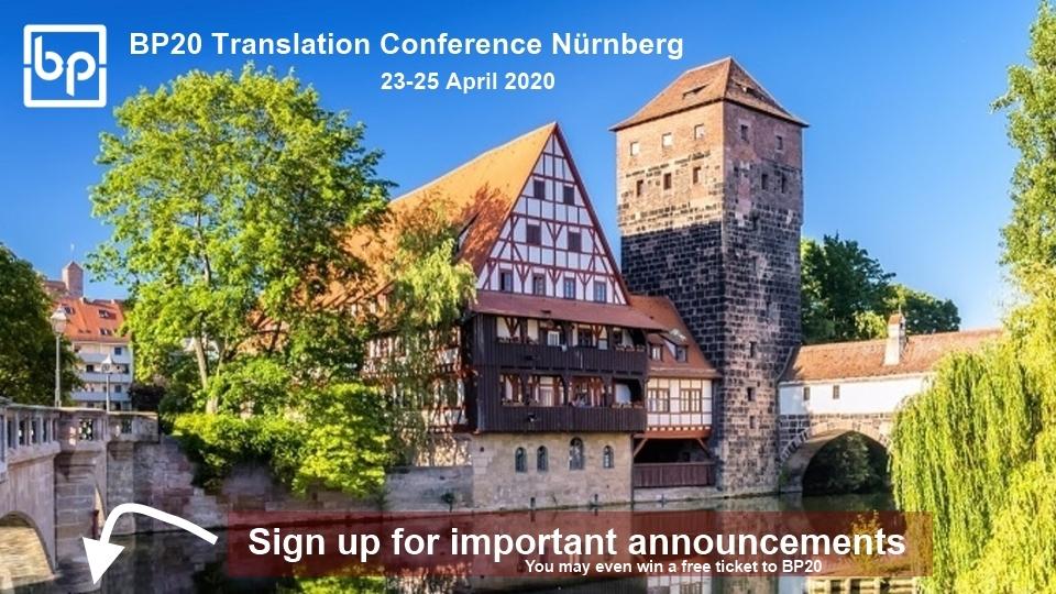 BP20 Translation Conference sign up