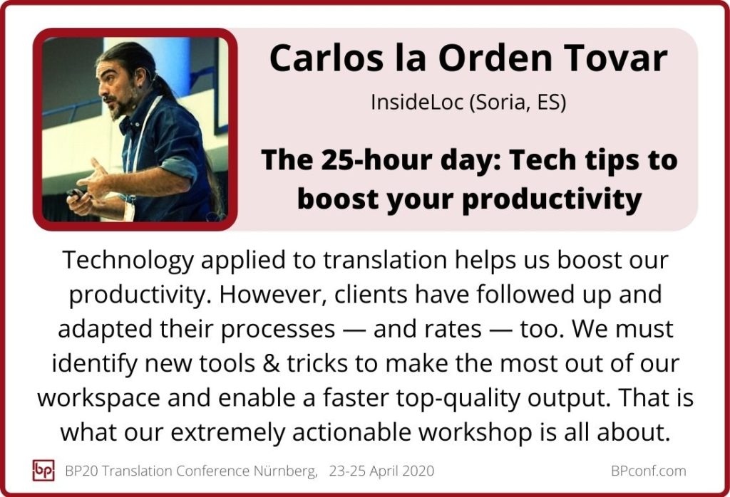 Carlos la Orden Tovar_BP20_The 25-hour day - Tech tips to boost your productivity