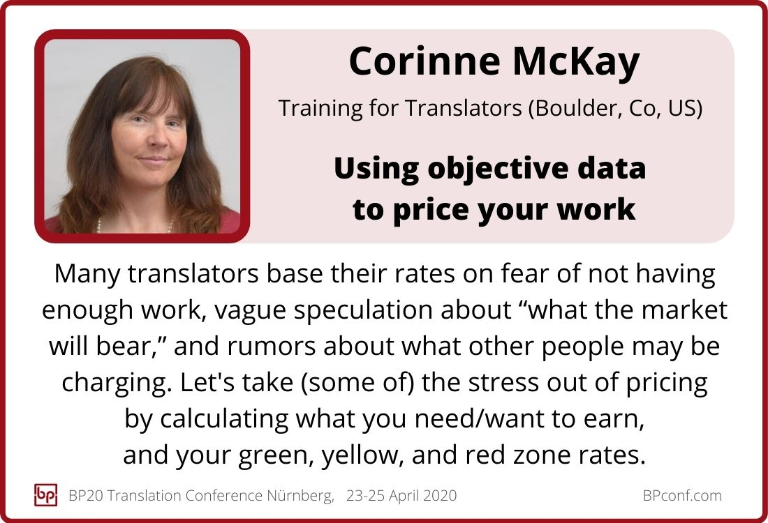 Corinne McKay_BP20_Using objective data to price your work