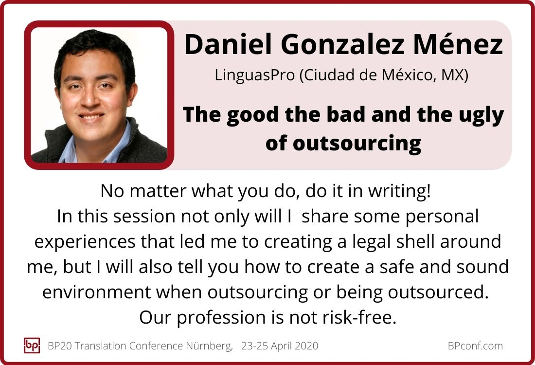 Daniel Gonzalez Menez_BP20_The good the bad and the ugly of outsourcing
