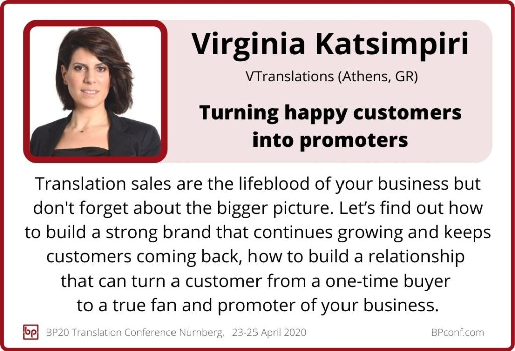 Virginia Katsimpiri_BP20_Turning happy customers into promoters