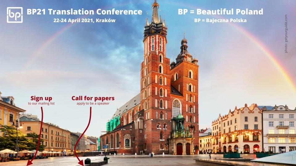 200511_BP21 Translation Conference Kraków