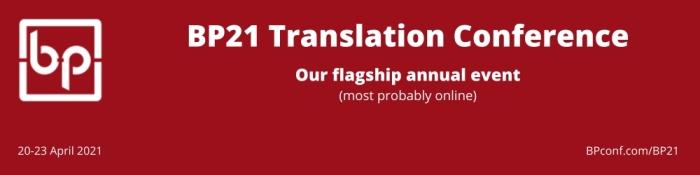 BP21 Translation Conference online