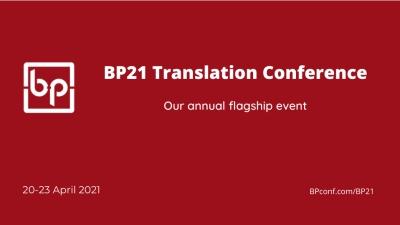 BP21 Translation Conference