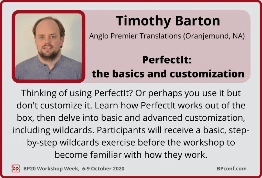 BP20_Workshop Week_Session Card_Timothy Barton_PerfectIt