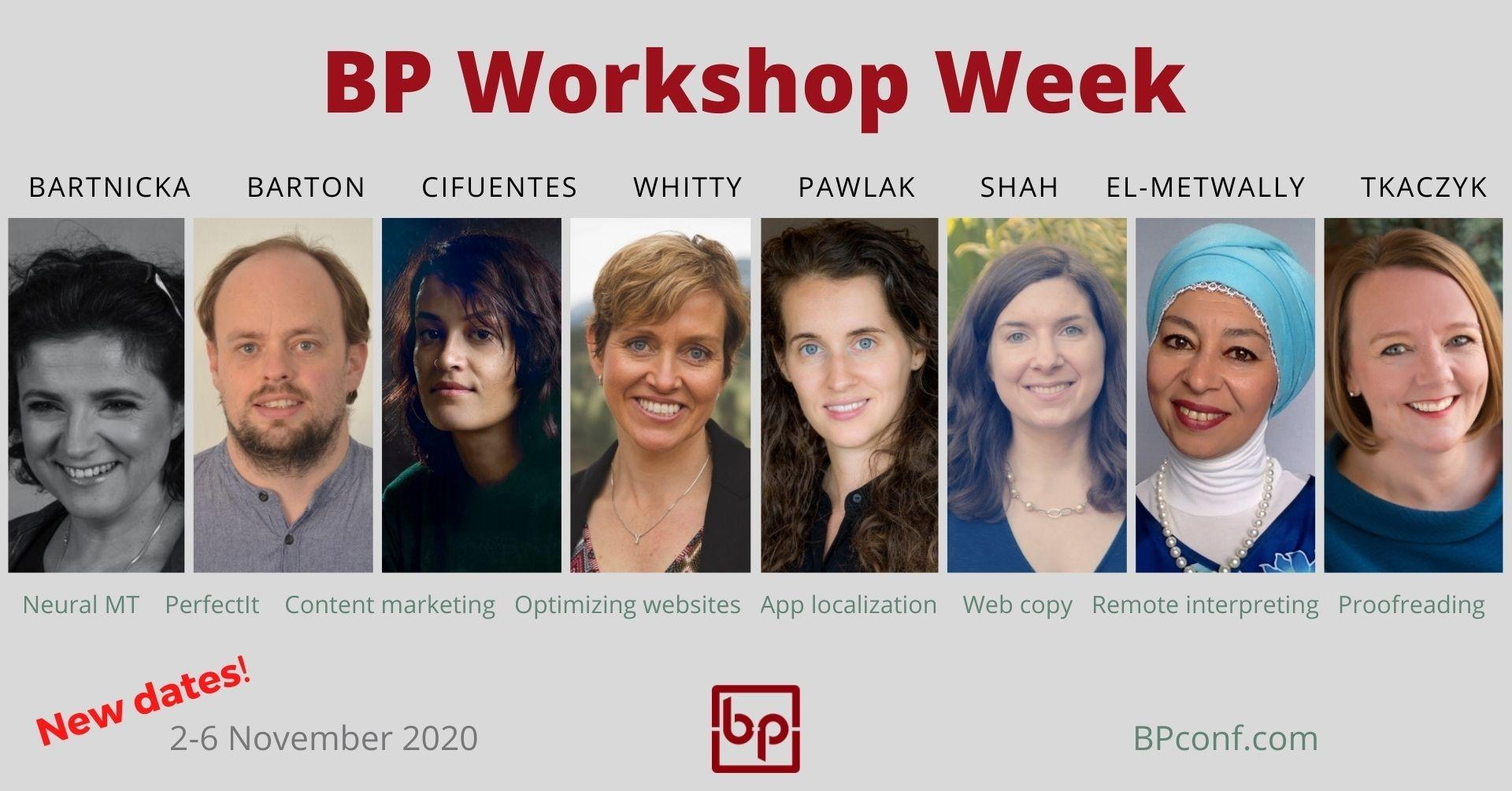 BP Workshop Week