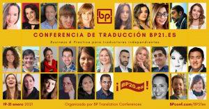 Conferencia de traducción en espanol BP21.es BP Translation Conference in Spanish
