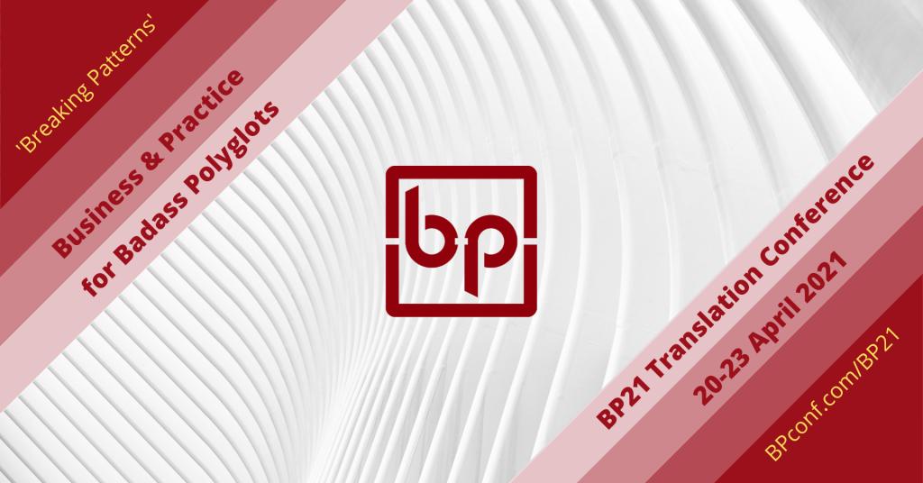 BP21 Translation Conference website cover