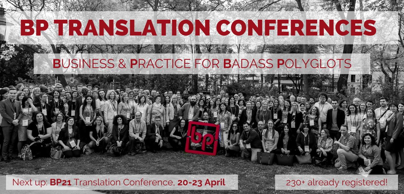 BP21 Translation Conference 20-23 April 2021